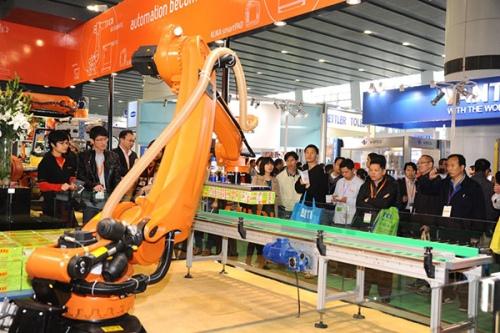 robot worker labor factory