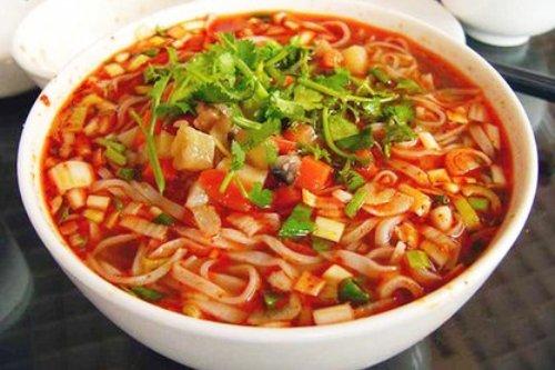 pungeant noodles