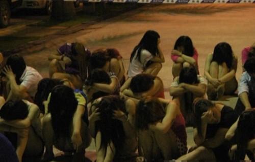 shenzhen vice bust prostitution dongguan