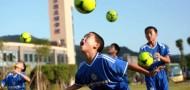 soccer school children china guangzhou shenzhen