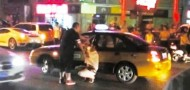 beijing ferrari owner beats taxi cabbie assault