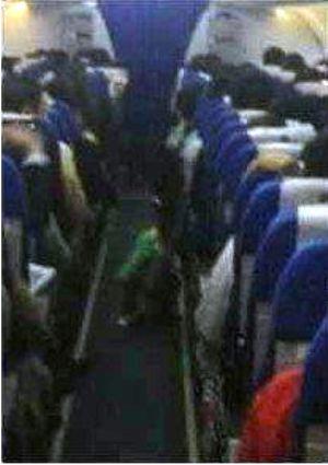delta airline child poop