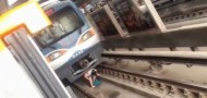 pregnant woman under beijing train