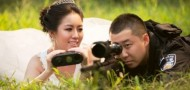 swat police wedding photos chongqing propaganda