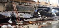 sz luohu market collapse heavy rain bad weather