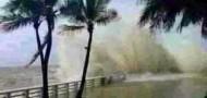 typhoon rammasun bad weather rain wind extreme