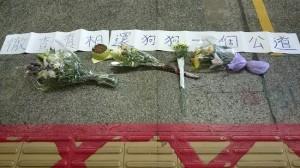 hong kong dog killed MTR subway
