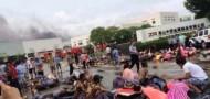 kunshan factory explosion jiangsu car parts GM death injured fire
