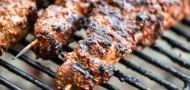 lamb skewers kebabs barbecue