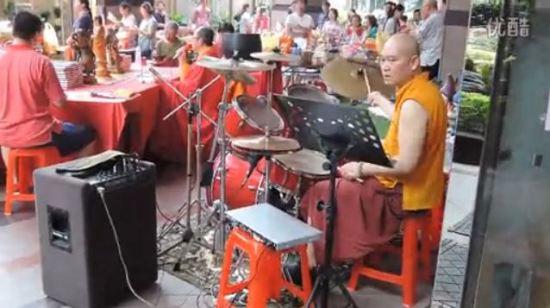 monk rock drummer