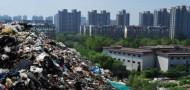 shijiazhuang garbage pile hubei pollution
