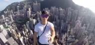 skyscraper selfie hong kong
