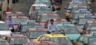 beijing taxi gridlock traffic jam
