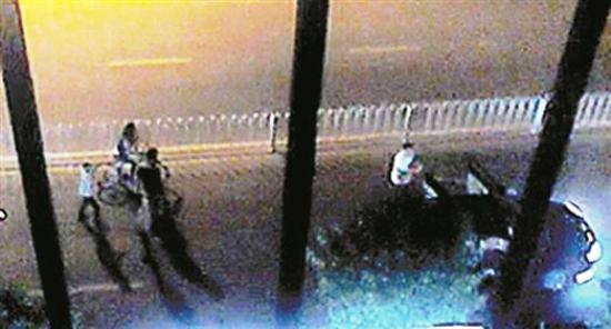 shenzhen knife attack traffic altercation