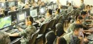 pla internet bar military army china