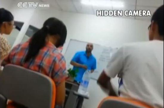 undercover english teaching cctv report