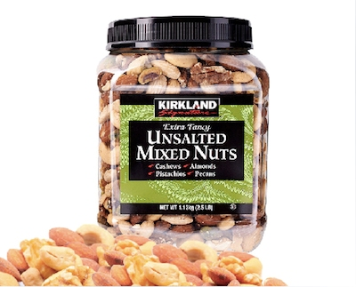 costco top five mixed nuts