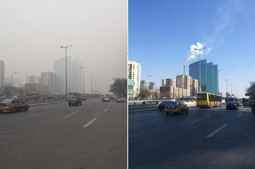 the problem of pollution in beijing My name is china, and i have a pollution problem farmland is contaminated,  tourism is down, and companies are packing up beijing's first.